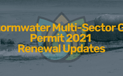 EPA Stormwater Multi-Sector General Permit 2021 Renewal Updates