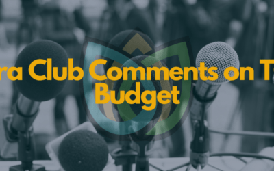Sierra Club Comments on TCEQ Budget